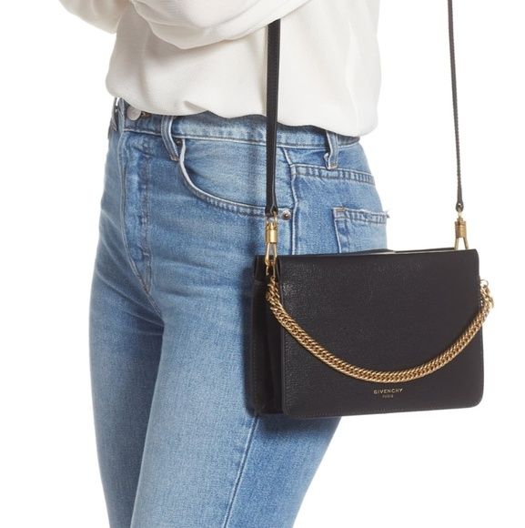 Givenchy Handbags - Givency Cross3 bag black leather and suede
